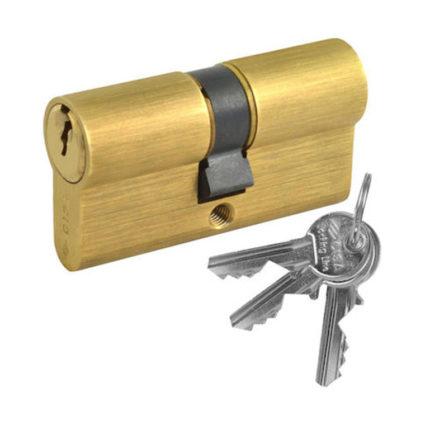 Cisa Κύλινδρος Locking Line Χρυσός