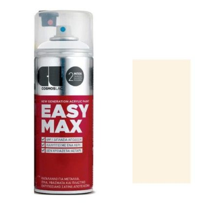 Spay Easy Max 400ml, Cream White No 801