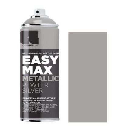 Spay Easy Max 400ml, Metallic Silver No 900