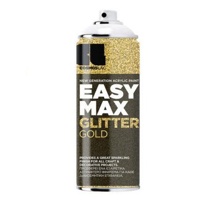 Σπρέι Easy Max Cosmos Lac Glitter Gold