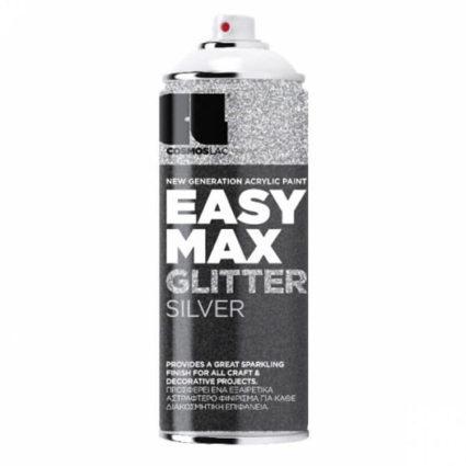 Σπρέι Easy Max Cosmos Lac Glitter Silver