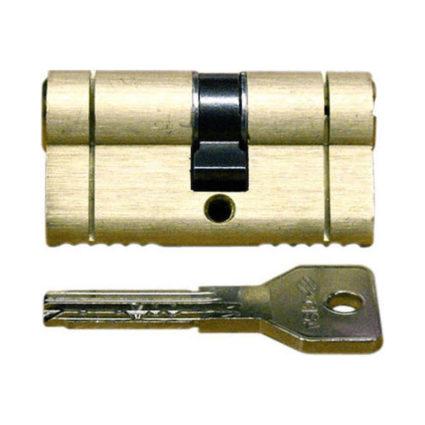 Cisa Κύλινδρος Υπερασφαλείας Σπαστός Χρυσός Asix Brake Secure