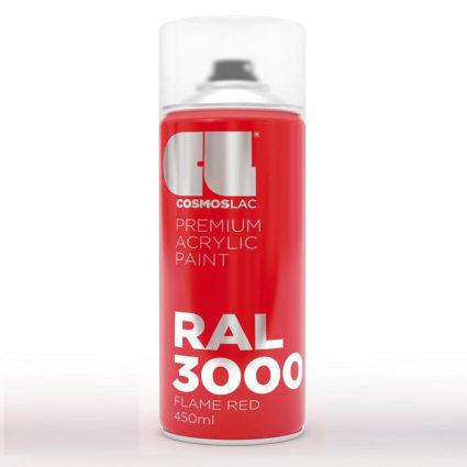 Σπρέι Ακρυλικά Cosmos Lac Acrylic Ral 3000