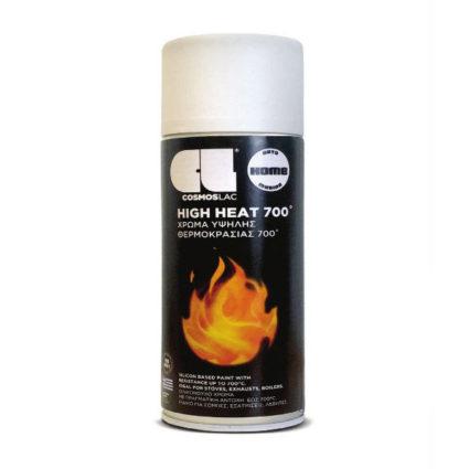 Σπρέι Υψηλής Θερμοκρασίας 700°C Λευκό